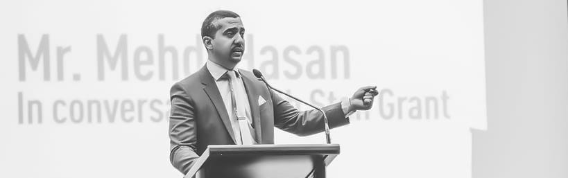 Award winning journalist, presenter and author Mehdi Hasan on defeating extremism
